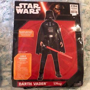 Star Wars Darth Vader Costume Kids Size Medium